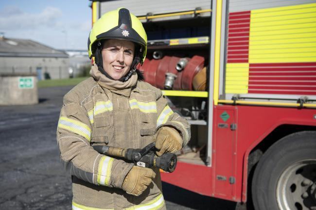More women have applied to become firefighters in Scotland
