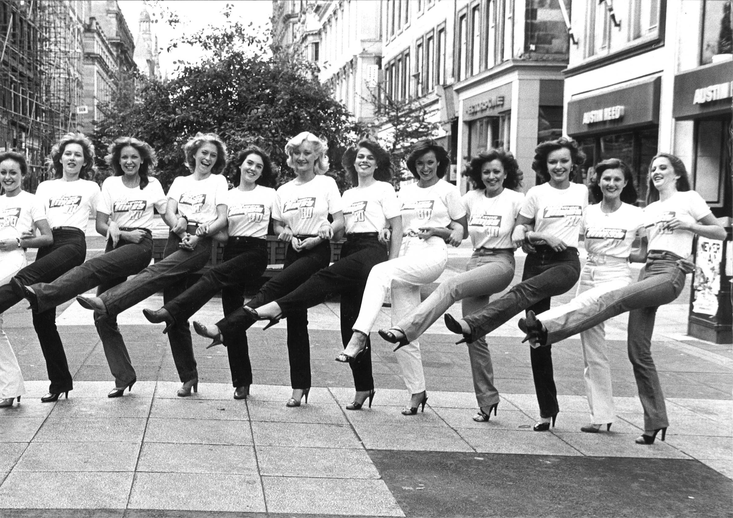 We had a look through the archives and found these great retro photos of Miss Evening Times contestants
