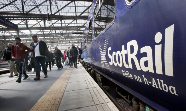 Replacement bus service as train breaks down at East Kilbride