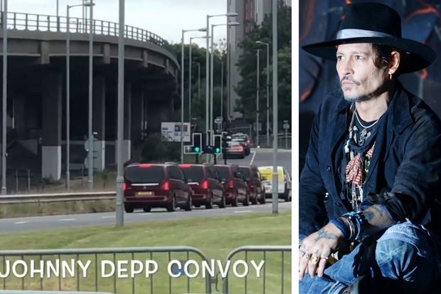 Hollywood star Johnny Depp reveals who his Scots hero is during Glasgow visit
