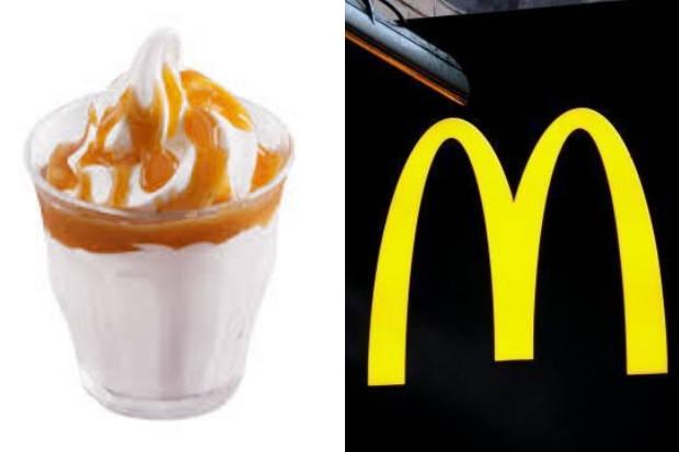 Fast Food giants McDonald's AXE ice-cream sundaes