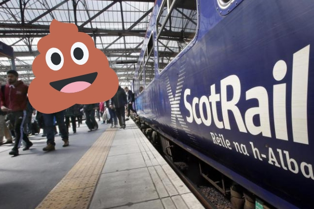 Anger as ScotRail trains plan to dump HUMAN WASTE on Scotland's tracks
