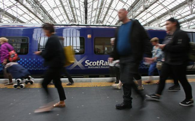 Broken down train causing delays on busy Glasgow route