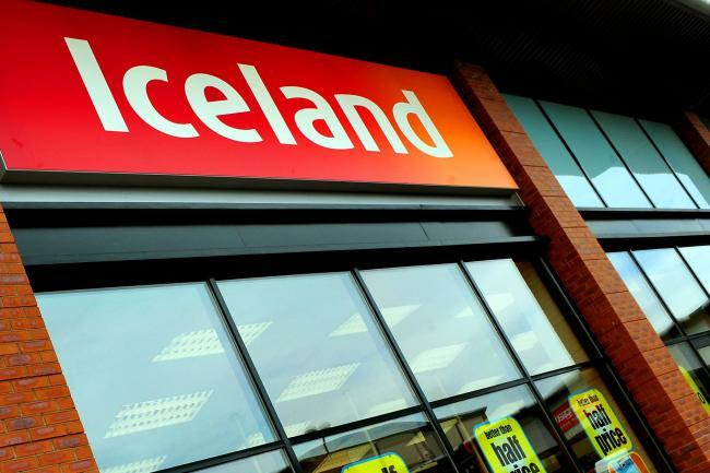 £600 pounds worth of goods stolen from Iceland
