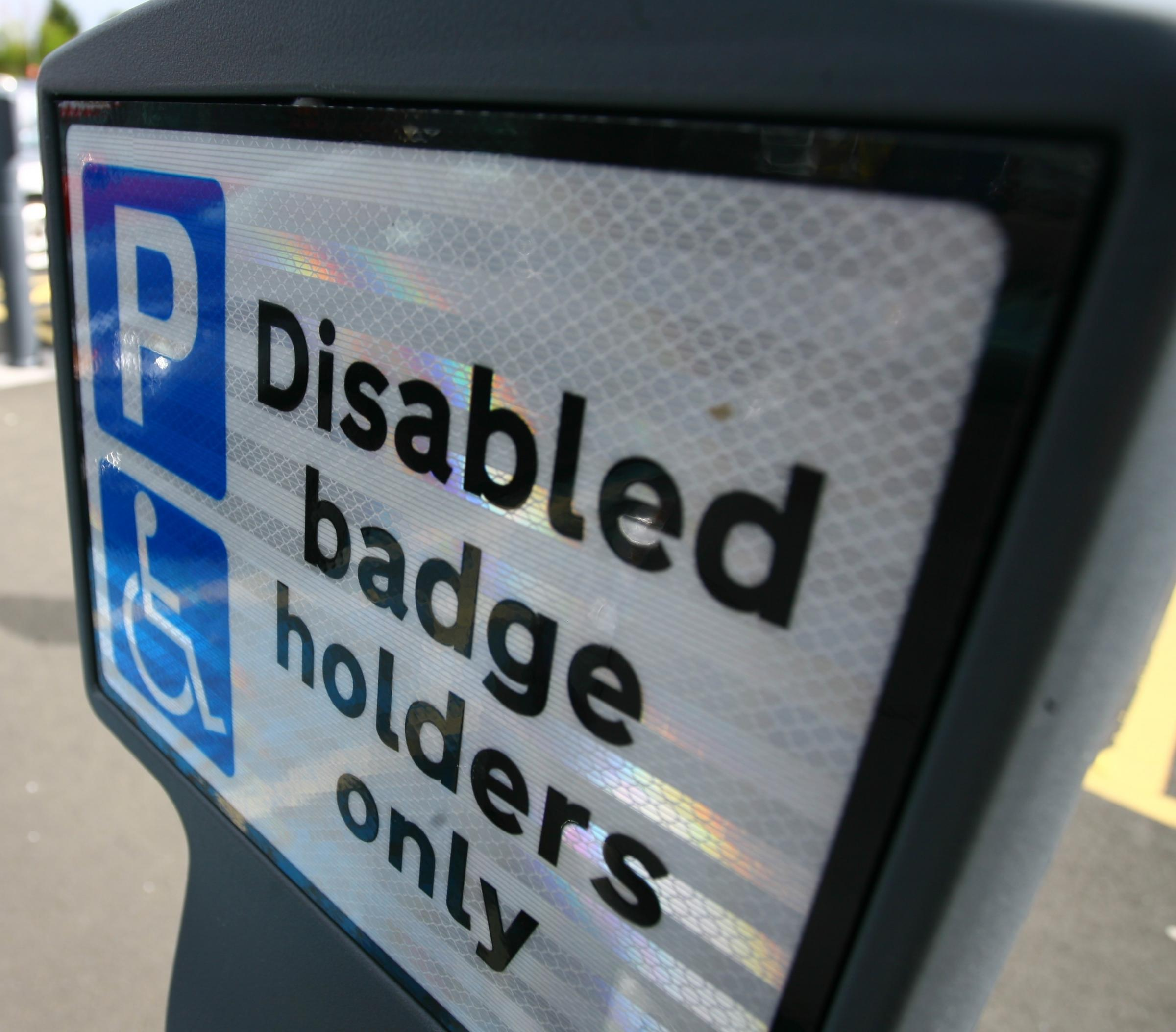 BLUE BADGE: Several ways to apply.