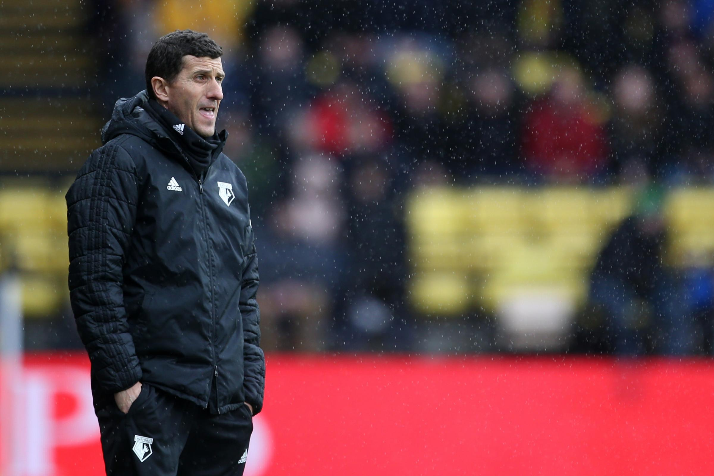 Watford manager Javi Gracia did not agree with the red card for Troy Deeney