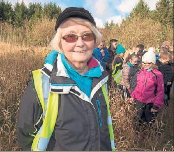 East Kilbride Connect: Maureen Potter's efforts are also helping local community groups.
