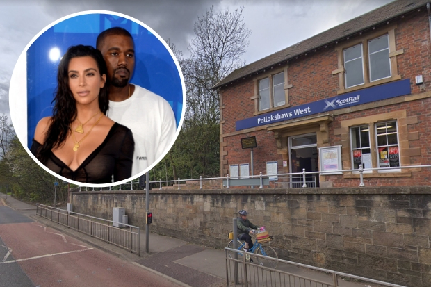 Kim Kardashian West 'names baby after Glasgow train station'