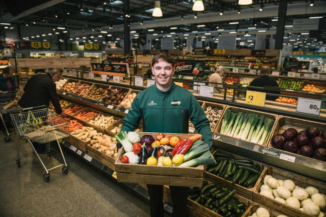 Morrisons becomes first British supermarket to ban plastic packaging from fruit and veg