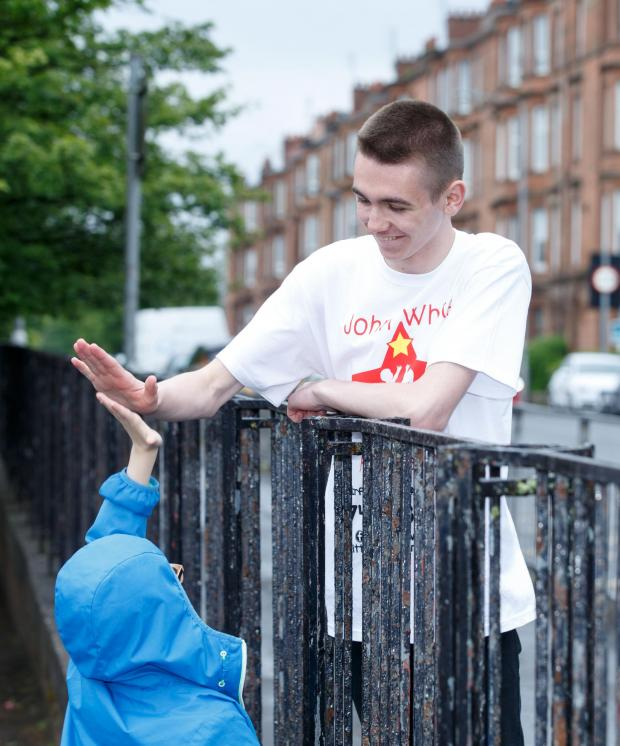 East Kilbride Connect: John White campaigns to support kids in Glasgow's east end